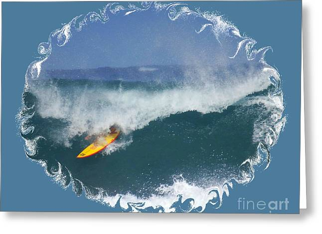 Surfing Photos Greeting Cards - Professional Surfing Greeting Card by Scott Cameron