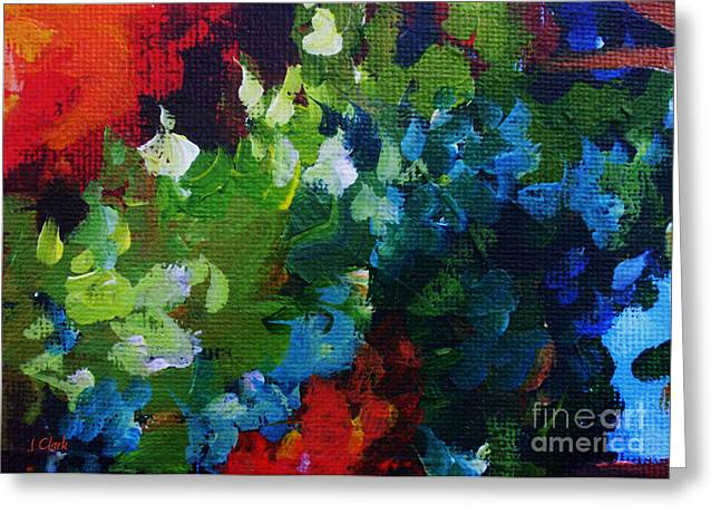 Vivid Colour Greeting Cards - Profound Greeting Card by John Clark