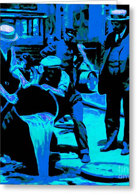 Hangout Greeting Cards - Prohibition 20130218m180 Greeting Card by Wingsdomain Art and Photography