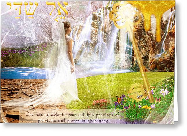 Bride To Be Greeting Cards - Promised Land Greeting Card by Jennifer Page