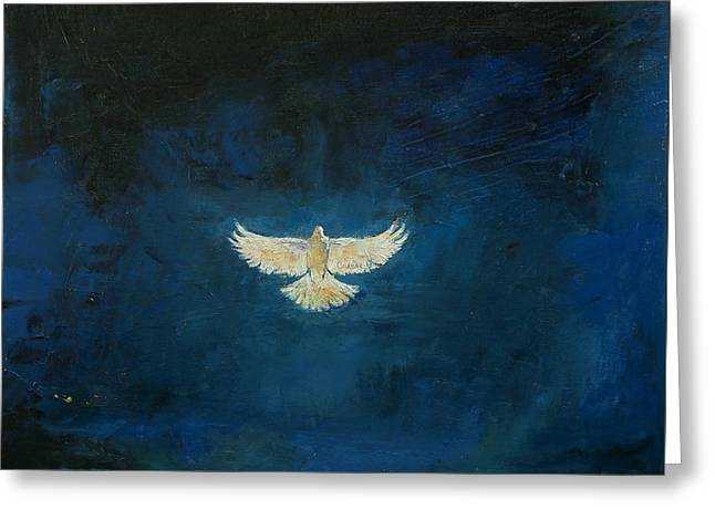 Promised Land Greeting Card by Michael Creese