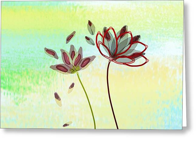 Caring Mother Mixed Media Greeting Cards - Propagate Greeting Card by Len YewHeng
