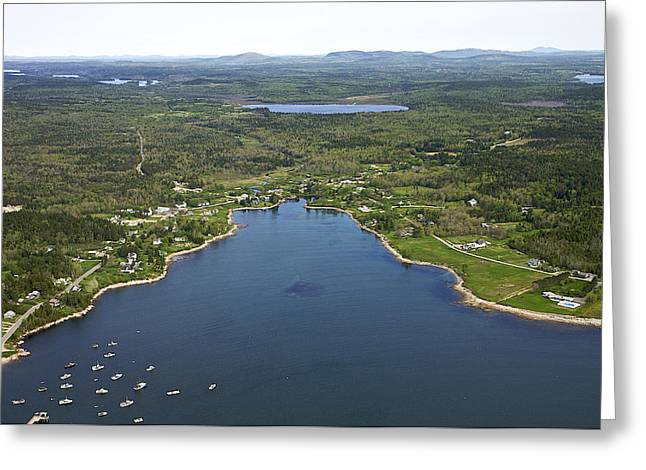Prospects Greeting Cards - Prospect Harbor, Maine Greeting Card by Dave Cleaveland