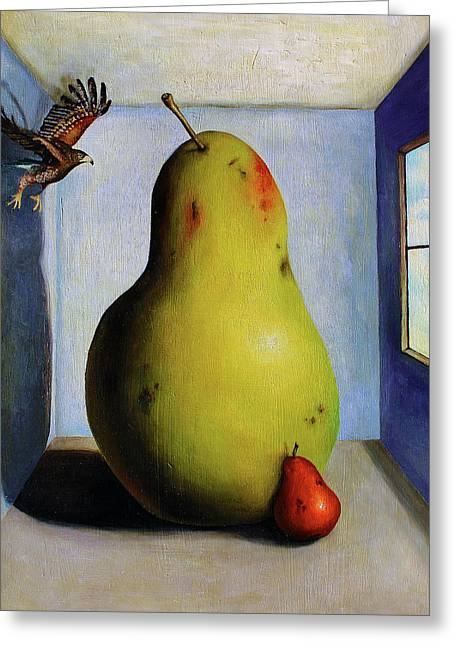 Interior Still Life Greeting Cards - Protecting Baby 5 Greeting Card by Leah Saulnier The Painting Maniac
