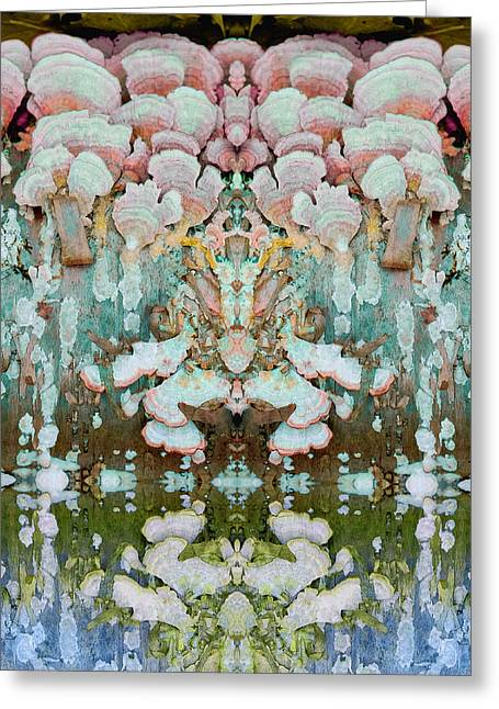Unity Consciousness Greeting Cards - Mythic Throne Greeting Card by Melissa Szalkowski
