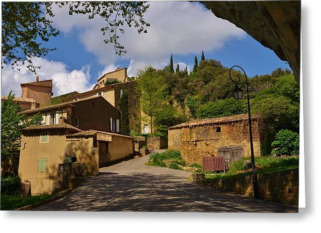 Provence Village Greeting Cards - Provencal village Greeting Card by Dany  Lison