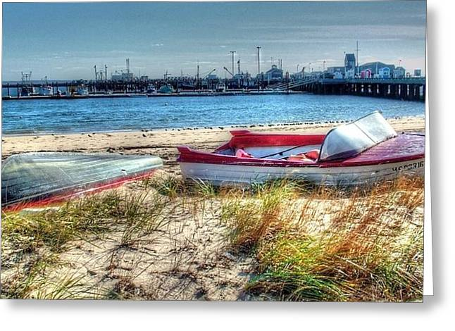 Provincetown Beach Greeting Card by Susan Lee Giles