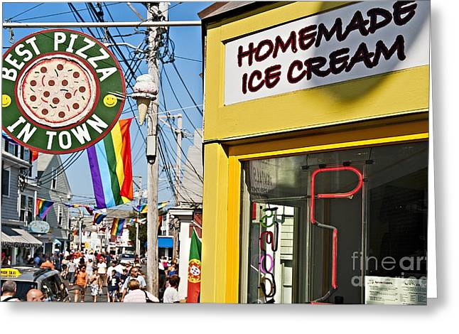 Cape Cod Tourism. Greeting Cards - Provincetown Greeting Card by John Greim