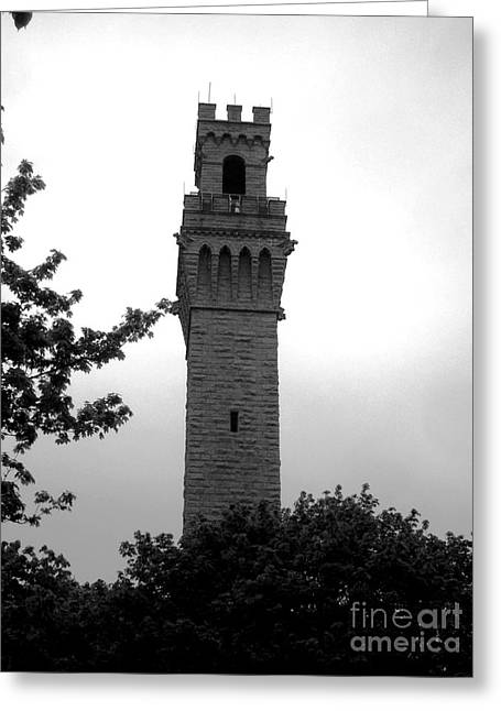 Ptown Greeting Cards - Provincetown Monument Greeting Card by Liz Borden