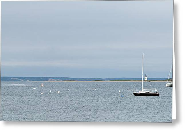 Outlook Greeting Cards - Provincetown Outlook Greeting Card by Michelle Wiarda