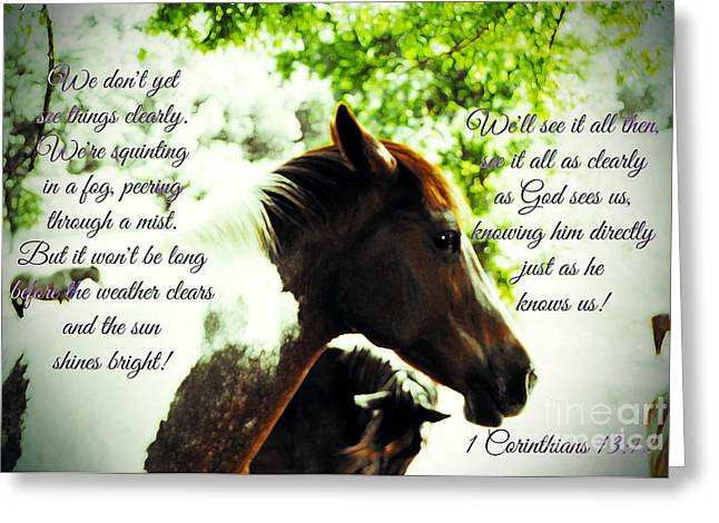 Tennessee Farm Digital Art Greeting Cards - Provocation Greeting Card by Anita Faye