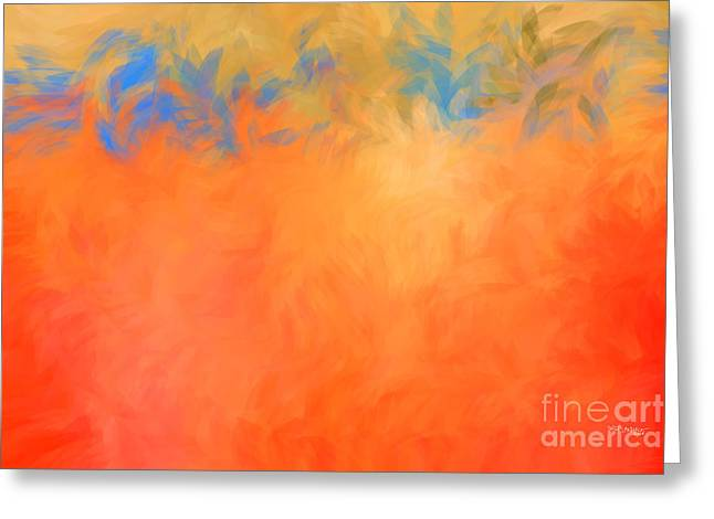 Beige Abstract Greeting Cards - Psalm 30 11 My Despair Has Turned To Joy Greeting Card by Mark Lawrence