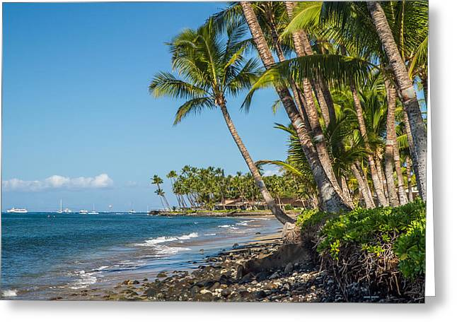Lahaina Greeting Cards - Puamana maui Greeting Card by Pierre Leclerc Photography