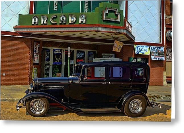 1932 Ford Greeting Cards - Public Enemy Number One Greeting Card by Tim McCullough