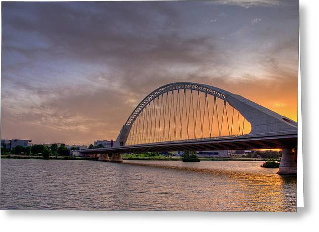 Extremadura Greeting Cards - Puente de Lusitania II Greeting Card by Pablo Lopez
