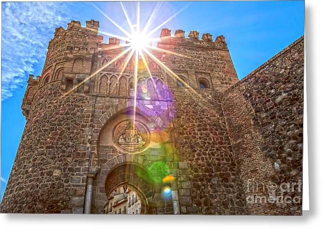 Castile La Mancha Greeting Cards - Puerta del Cambron Greeting Card by Scotts Scapes
