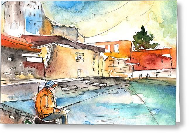 Puerto De La Cruz 04 Greeting Card by Miki De Goodaboom