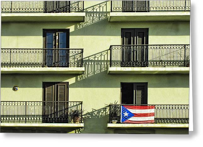 Puerto Rico Greeting Cards - Puerto Rican Pride Greeting Card by Carter Jones