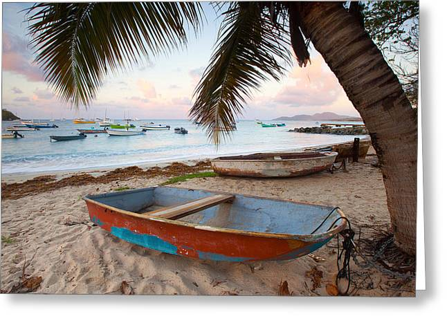 Puerto Rico Morning Greeting Card by Patrick Downey
