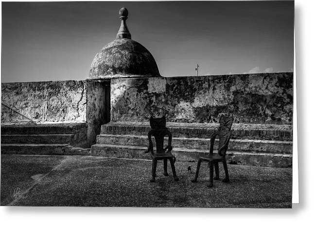 Old San Juan Greeting Cards - Puerto Rico - Old San Juan 001 Greeting Card by Lance Vaughn