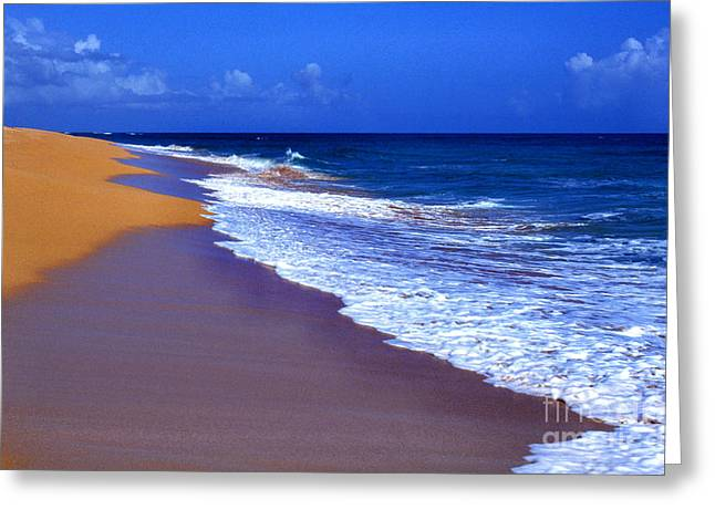 Puerto Rico Greeting Cards - Puerto Rico seascape Greeting Card by Thomas R Fletcher