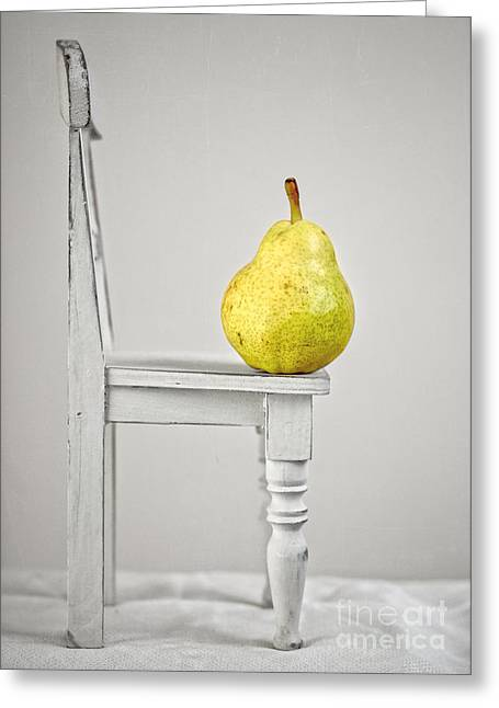 Tabletop Greeting Cards - Pull Up A Chair Greeting Card by Edward Fielding