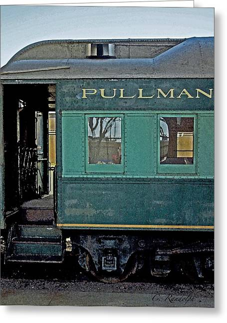 Galveston Greeting Cards - Pullman Greeting Card by Cheri Randolph