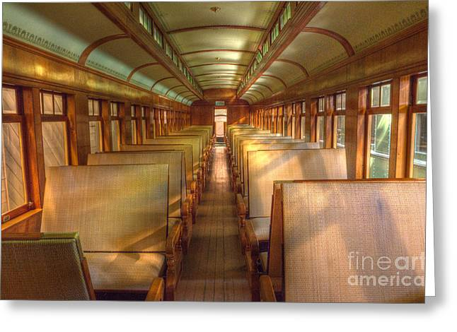 Canadian Photographer Greeting Cards - Pullman Porter Train Car Greeting Card by Bob Christopher