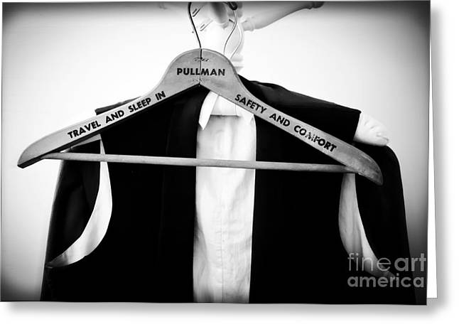 Train Car Greeting Cards - Pullman Tuxedo Greeting Card by Edward Fielding