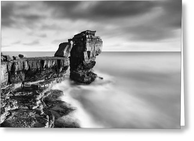 Jurassic Greeting Cards - Pulpit Rock Greeting Card by Rod McLean