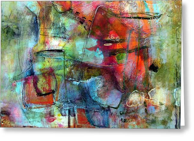 Subjective Greeting Cards - Pulse Greeting Card by Katie Black
