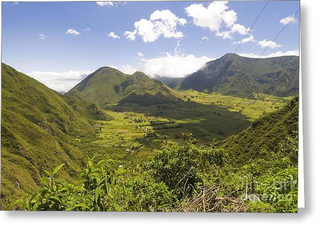Recently Sold -  - Reserve Greeting Cards - Pululahua Geobotanical Reserve Greeting Card by William H. Mullins
