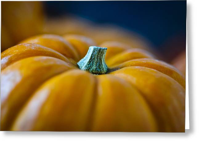 Harvest Time Greeting Cards - Pumpkin Time Greeting Card by Christi Kraft