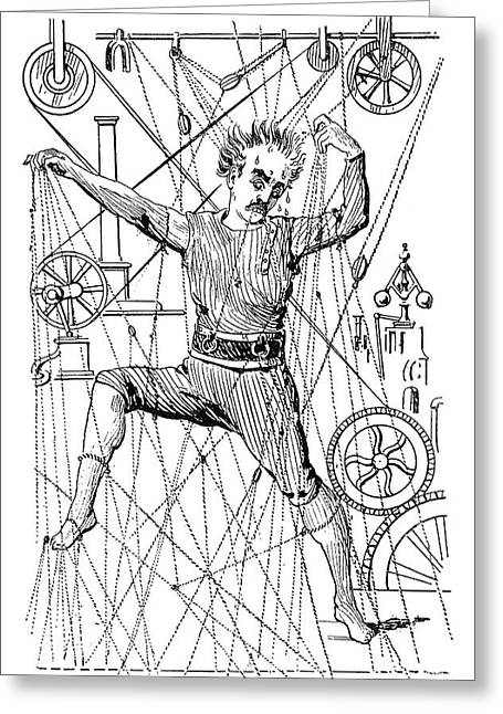Puppeteer Thomas Holden Greeting Card by Granger