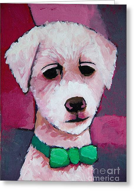 Baar Greeting Cards - Puppy Greeting Card by Lutz Baar