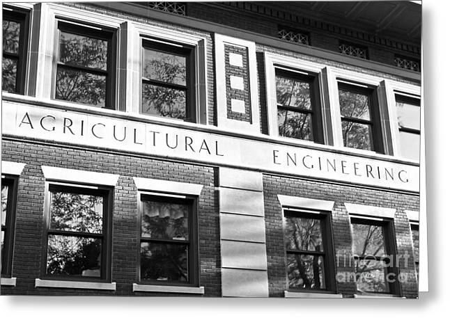 Boiler Greeting Cards - Purdue University Agricultural Engineering Greeting Card by University Icons