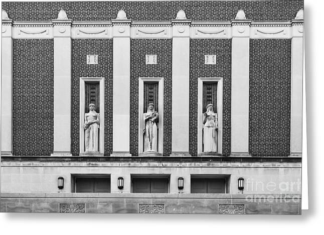Big Ten Conference Greeting Cards - Purdue University Elliott Hall Greeting Card by University Icons