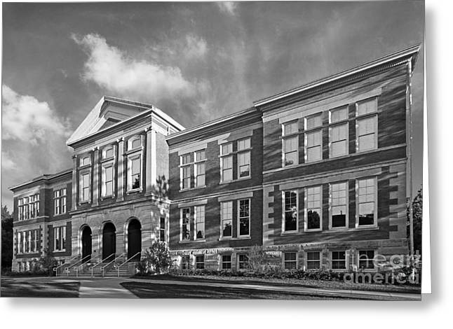 Purdue University Pfendler Hall Greeting Card by University Icons