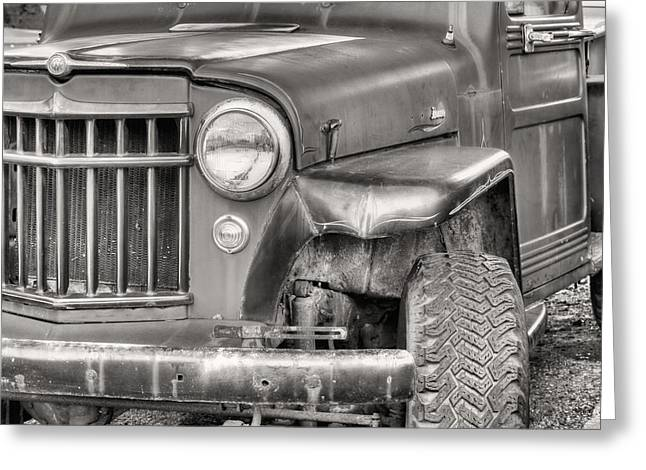 Four-wheel Greeting Cards - Pure American Greeting Card by JC Findley