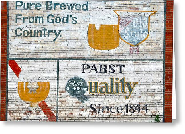 Pure Brewed Greeting Card by Jame Hayes
