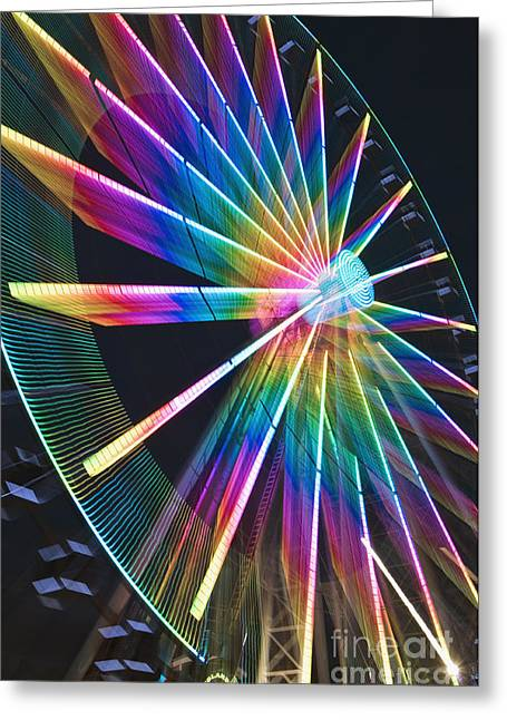 Rotate Greeting Cards - Pure Energy - D008797 Greeting Card by Daniel Dempster