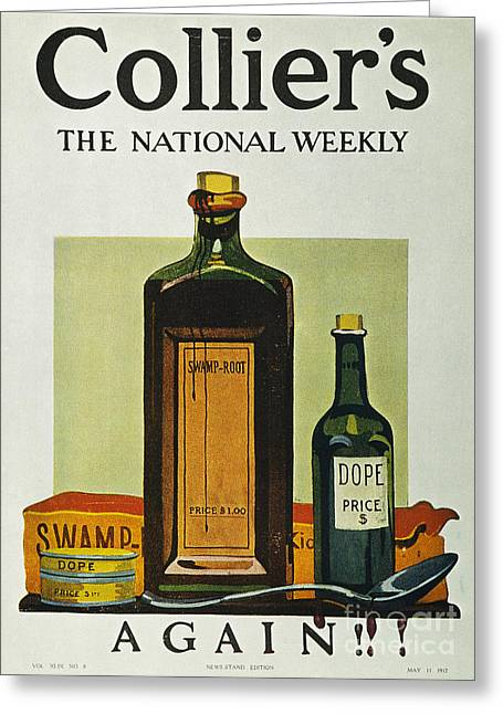 Pure Food Act, 1912 Greeting Card by Granger
