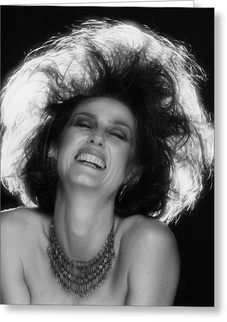 Kathy Greeting Cards - Pure Joy Greeting Card by Mark Greenberg