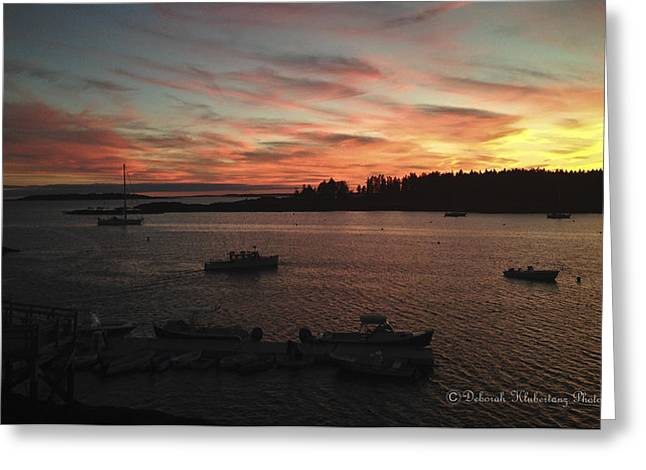 Historic Country Store Greeting Cards - Pure Maine Greeting Card by Deborah Klubertanz