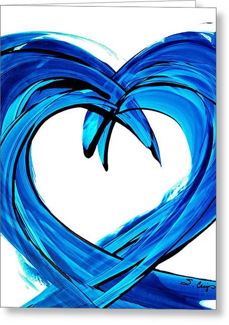 Honeymoon Greeting Cards - Pure Water 200 Greeting Card by Sharon Cummings