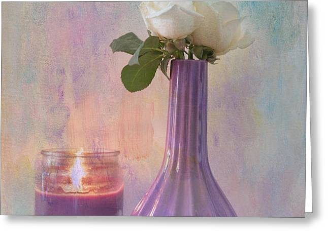Purity Greeting Card by Betty LaRue