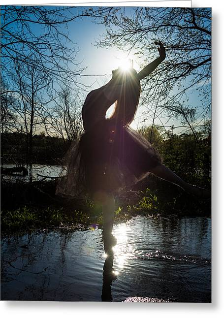 Ballet Dancers Photographs Greeting Cards - Purity Greeting Card by Ryan Crane