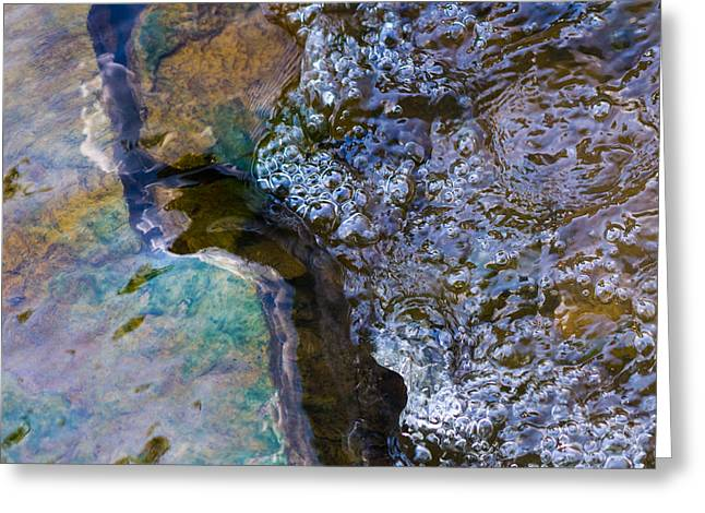 Purl Of A Brook 1 - Featured 3 Greeting Card by Alexander Senin