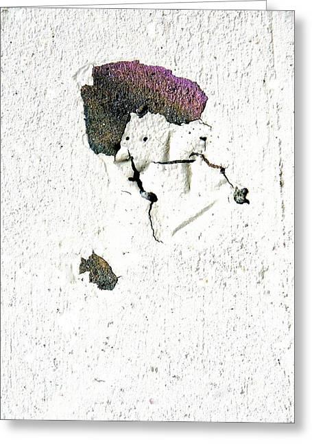 Smelling Salts Greeting Cards - Purple Hat Greeting Card by Marcia Lee Jones