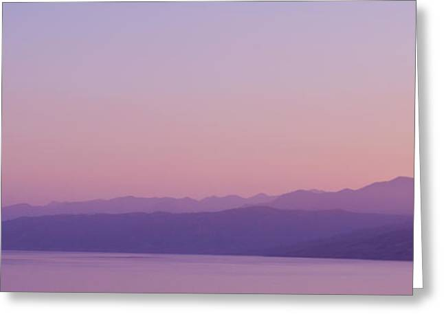Gilroy Greeting Cards - Purple Haze Greeting Card by Kevin  Whitworth